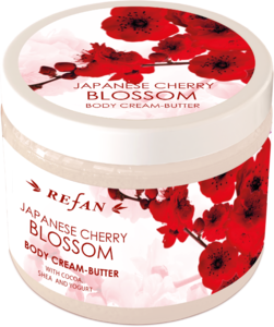 Japanese cherry blossom Butter-crema para el cuerpo