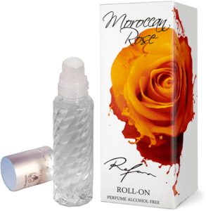 Moroccan Rose perfume sin alcohol  roll-on