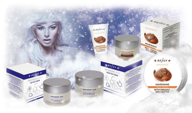 Cosmetologists of  REFAN  advise -  moisturize your skin in winter!
