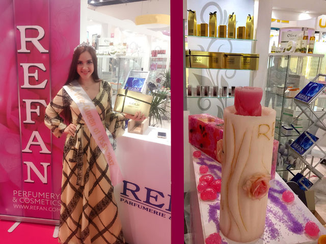 REFAN with impressive participation in Beautyworld Middle East's largest beauty exhibition - Dubai 2017