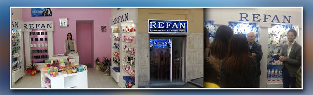 "The doors of the new ""REFAN"" store in Bisceglie Italy"