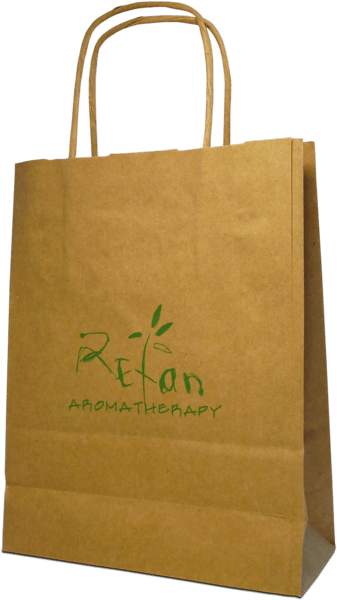 Paper bag large REFAN Boutique