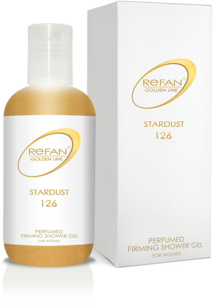 PERFUMED FIRMING SHOWER GEL  REFAN GOLDEN LINE STARDUST
