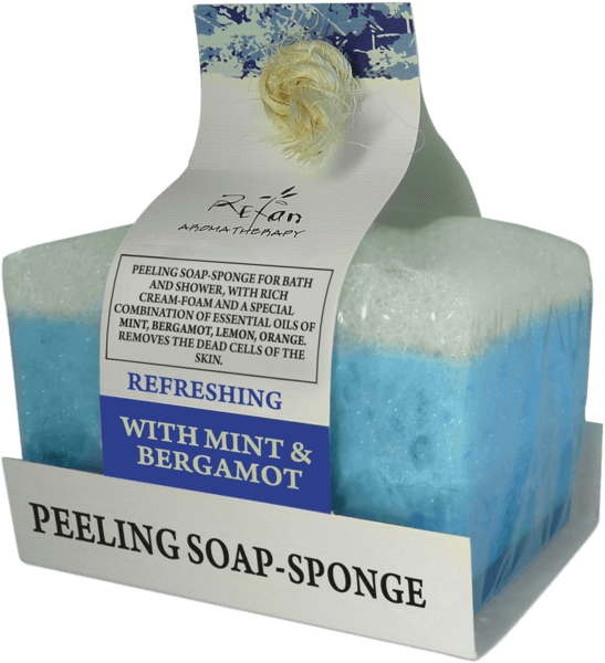 REFRESHING aromatherapy soap