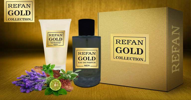 SET REFAN GOLD COLLECTION MEN 203