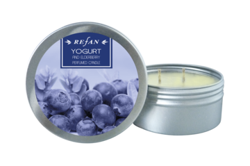 Vela perfumada Yogurt and Elderberry