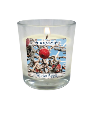 Velas Velas de la soja Winter Apple