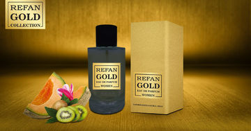 REFAN GOLD COLLECTION WOMEN EAU DE PERFUM REFAN  GOLD WOMEN  126