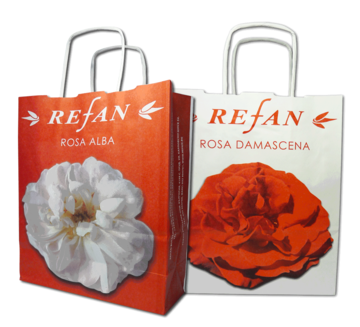 Accesorios Refan Bolsa Small paper bag Rose