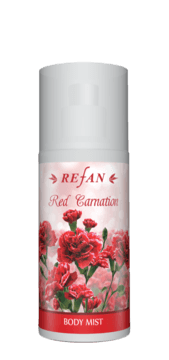 Red carnation Spray corporal