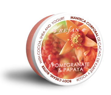 Pomegranate and Papaya Butter-cream corporal