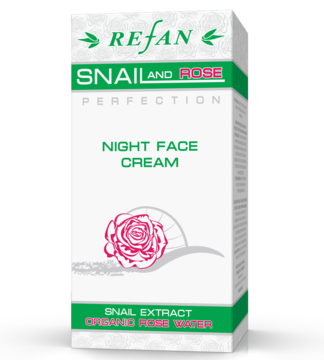 "Crema facial de noche ""SNAIL& ROSE PERFECTION"""