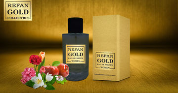 REFAN GOLD COLLECTION WOMEN EAU DE PERFUM REFAN  GOLD WOMEN  155