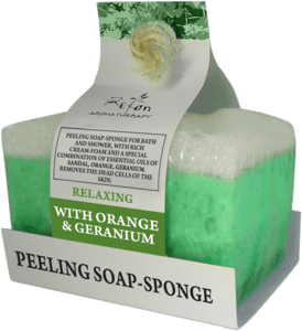 Jabones Peeling soap sponges RELAXING aromatherapy soap