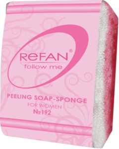Jabones Peeling soap sponges PEELING SOAP-SPONGE REFAN FOLLOW ME FOR WOMEN 192