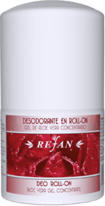 Aloe vera gel concentrado Desodorante en Roll-on.