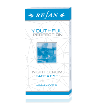 "SUERO NOCTURNO PARA  ROSTRO Y CONTORNO DE LOS OJOS ""YOUTHFUL PERFECTION"""