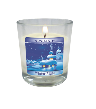 Velas Velas de la soja Winter Night