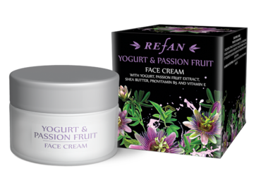 Yogurt & Passion Fruit Crema facial